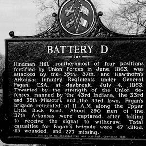 Battery D Marker