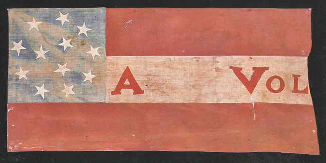 First Infantry Battle Flag