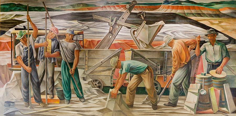 Bauxite Mural