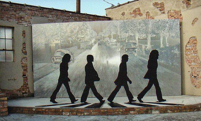Beatles Sculpture at Walnut Ridge