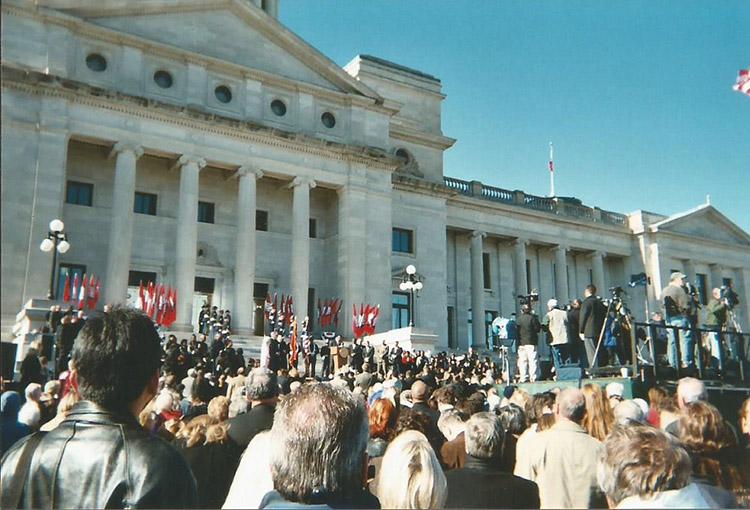 Beebe Inauguration
