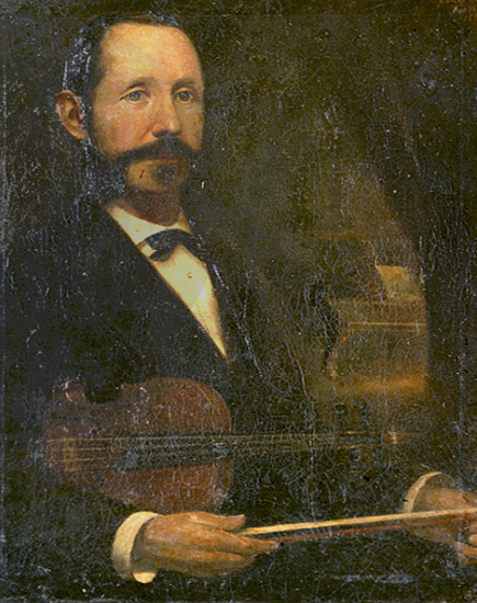 Louis L. Betts Painting