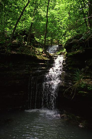 Big Piney Creek Waterfall