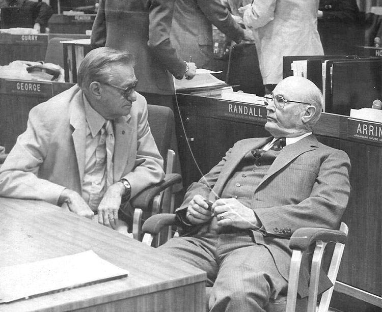 Bill Foster in Chamber