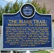 Blues Trail Sign