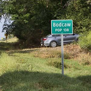 Entering Bodcaw