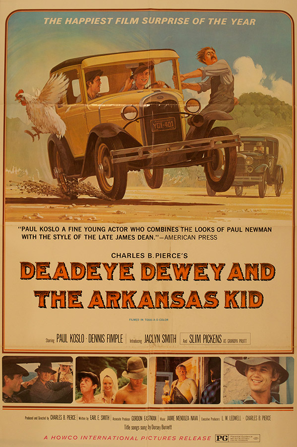 Deadeye Dewey and the Arkansas Kid Poster