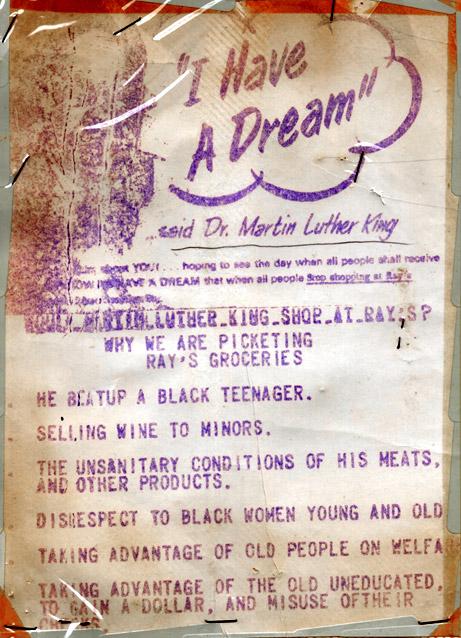 Boycott Flyer