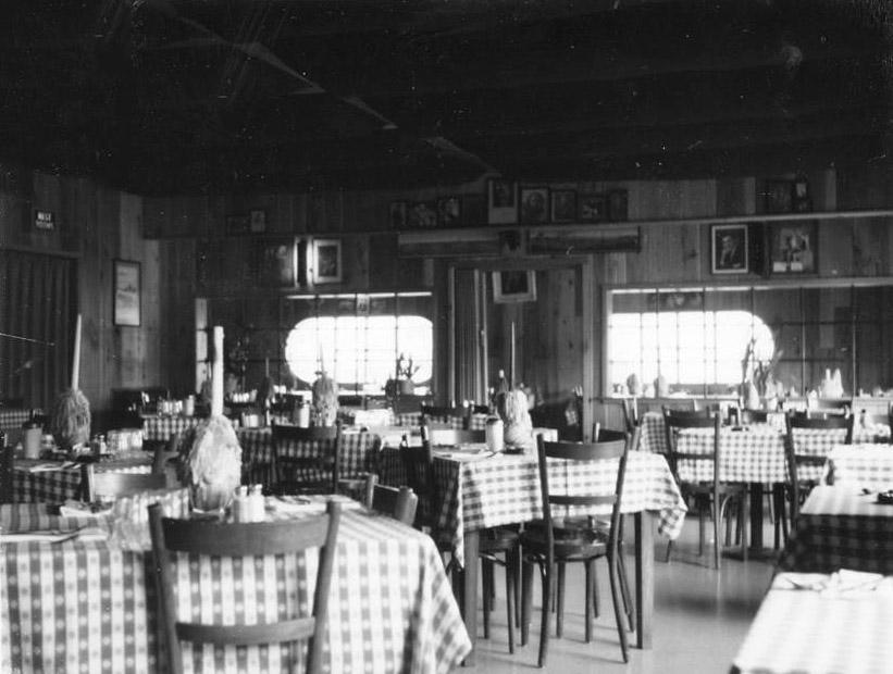 Bruno's Dining Room, 1960s
