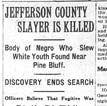 Nelson Lynching Article