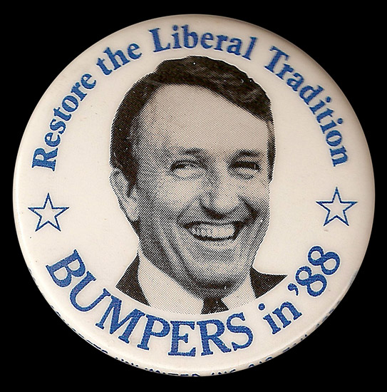 Dale Bumpers Button