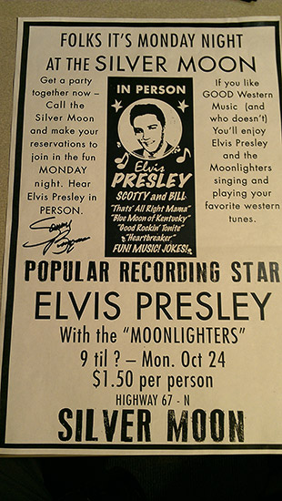 Poster Featuring the Moonlighters