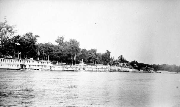 CCC Floating Camp at St. Charles