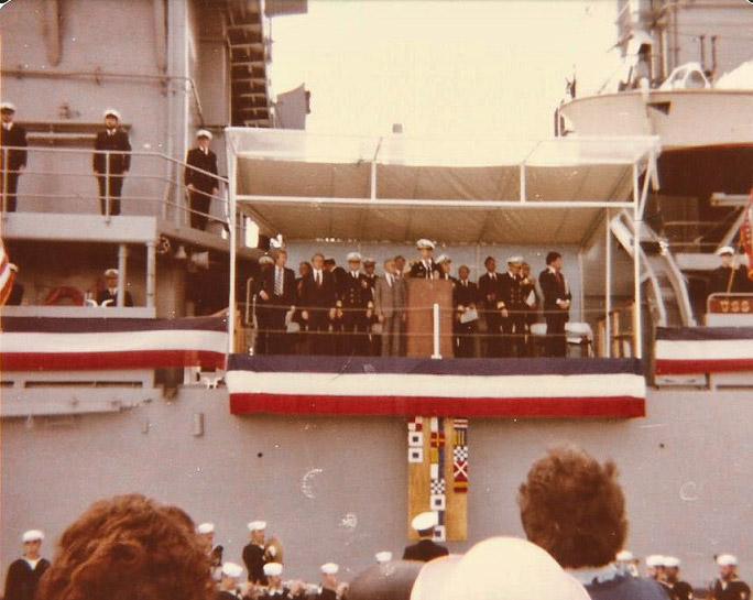 USS Arkansas Commissioning