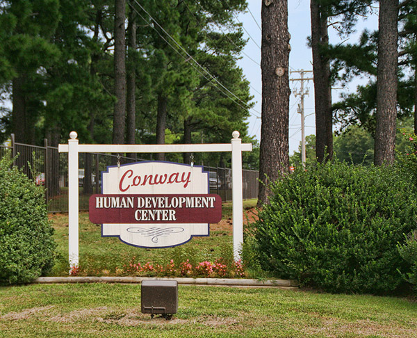 Conway Human Development Center: Entrance