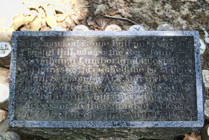 Cumberland Presbyterians Plaque