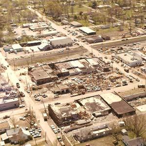 Cabot Tornado Damage