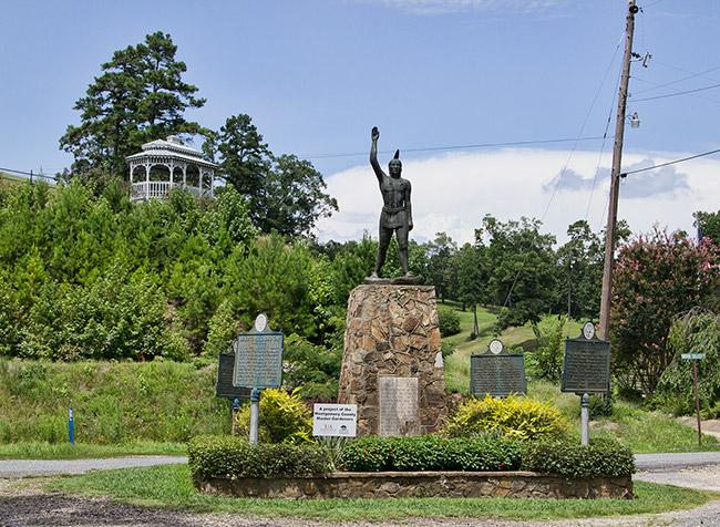Caddo Gap Monument