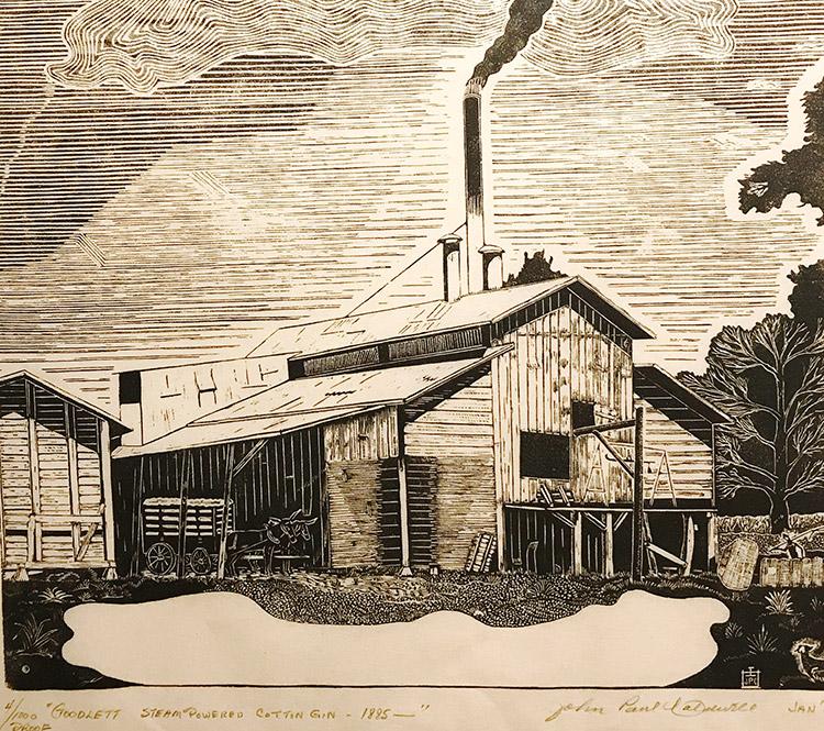 Goodlett Steam-Powered CottonGin