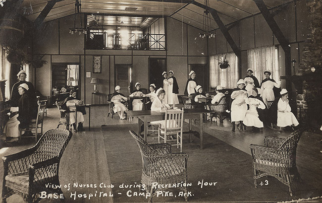 Camp Pike Nurses