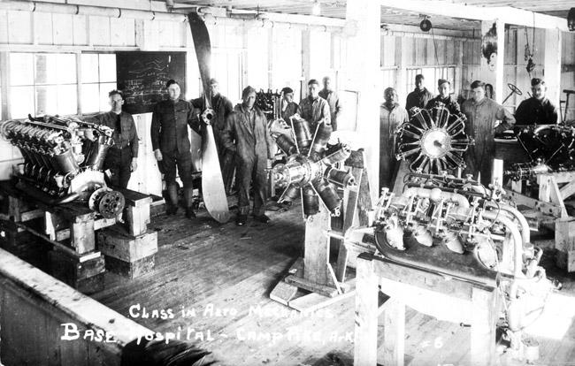 Aero Mechanics Class at Camp Pike