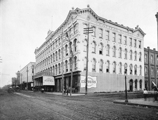 Capital Hotel; 1892