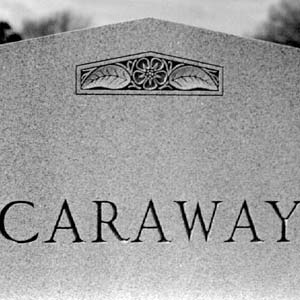 Caraway Tombstone
