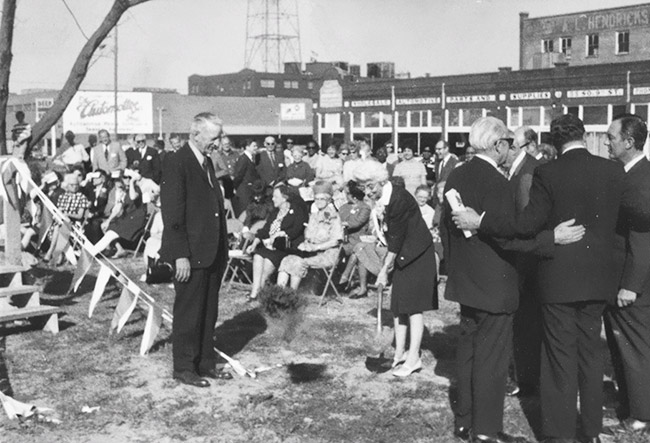 Carnegie Library Groundbreaking