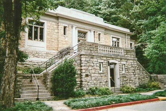 Carnegie Library at Eureka Springs