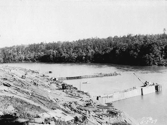 Carpenter Dam Construction