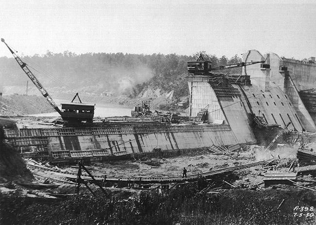 Carpenter Dam Construction
