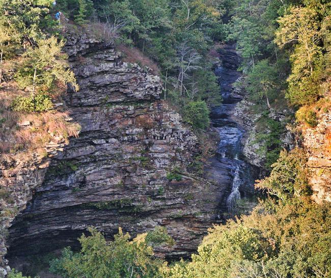Petit Jean State Park: Cedar Falls