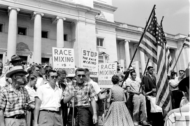 Segregationist Rally