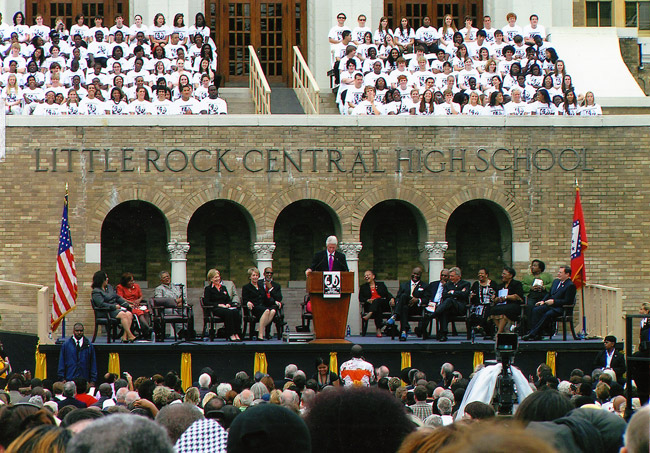 Desegregation of Central High 50th Anniversary