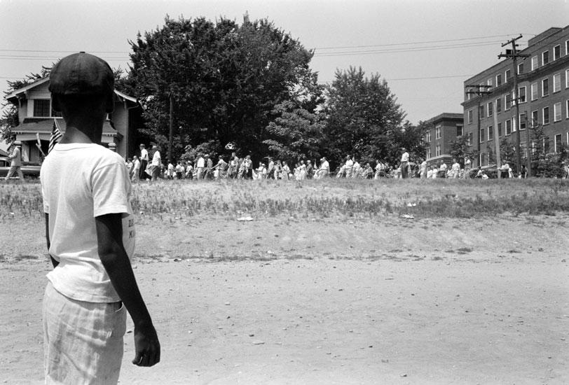 Desegregation Protest