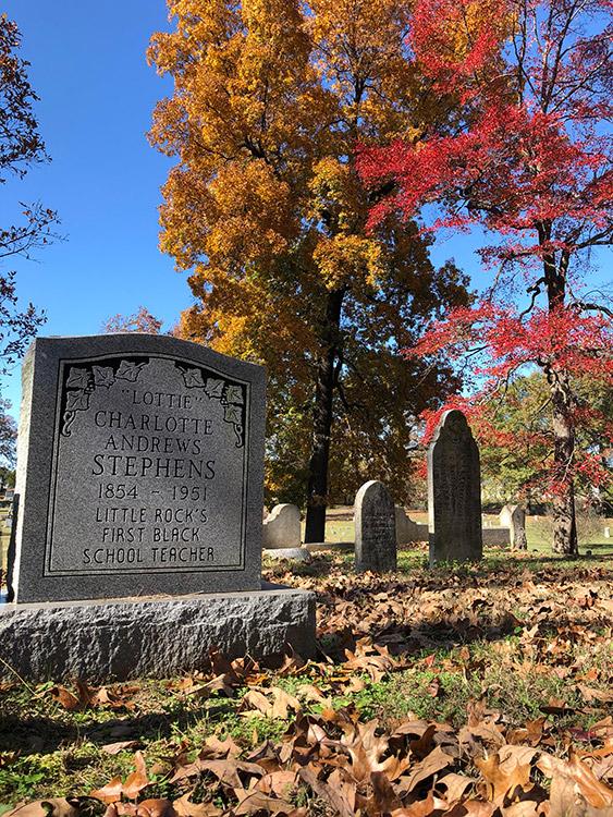 Charlotte Stephens Grave