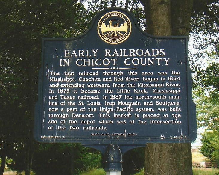 Chicot County Railroads