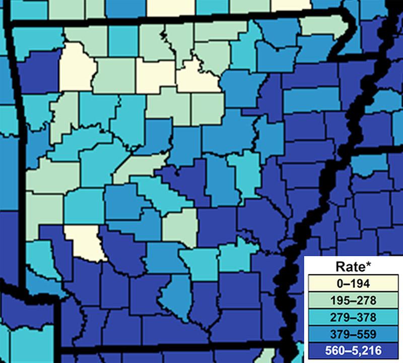 Chlamydia in Arkansas