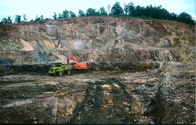 Christy Vanadium Mine Pit
