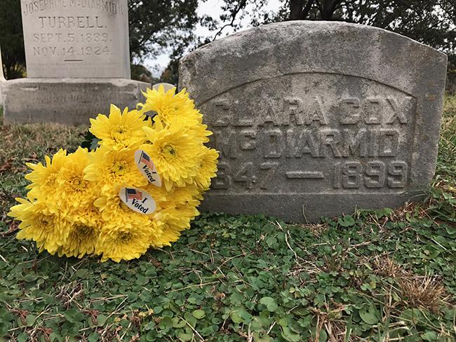 Clara McDiarmid Gravesite
