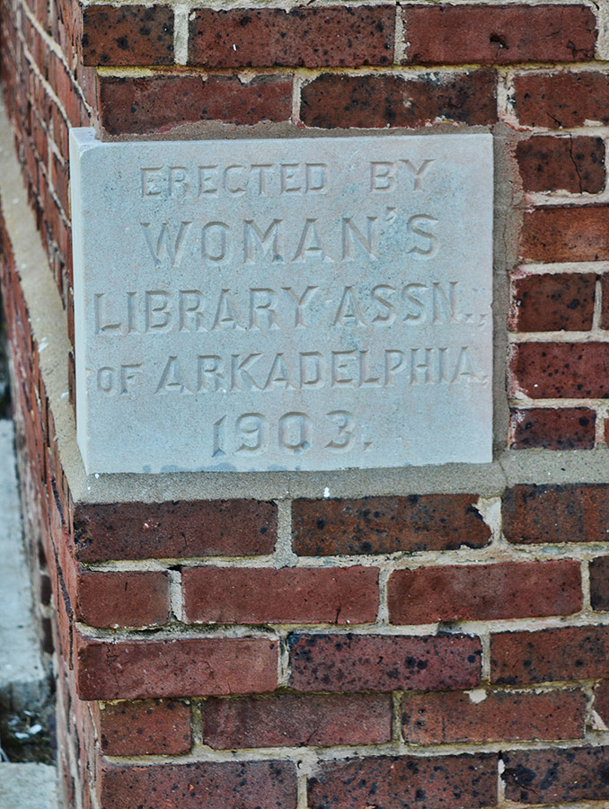 Clark County Library Plaque