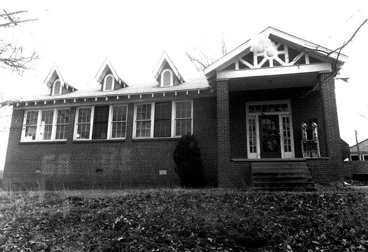 Clarksville High School Building No. 1
