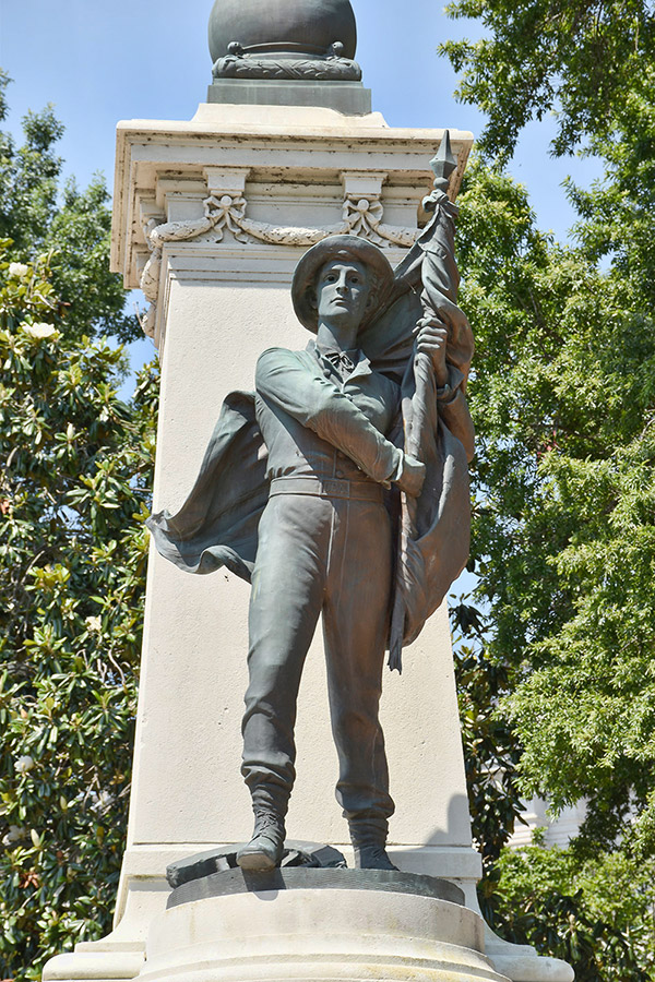 Confederate Soldiers Memorial Detail