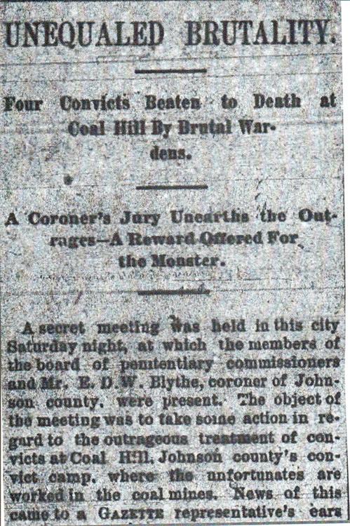 Convict Lease Article