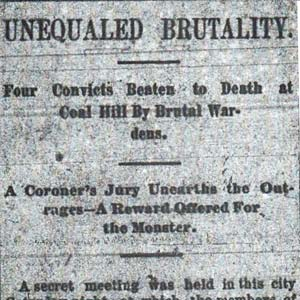 Convict Lease Article