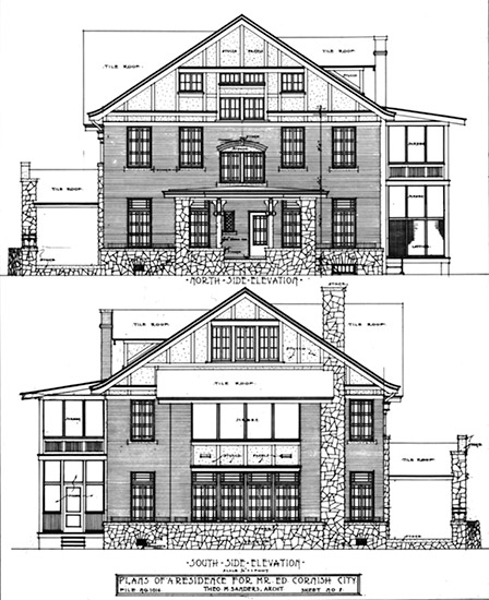 Cornish House Plans