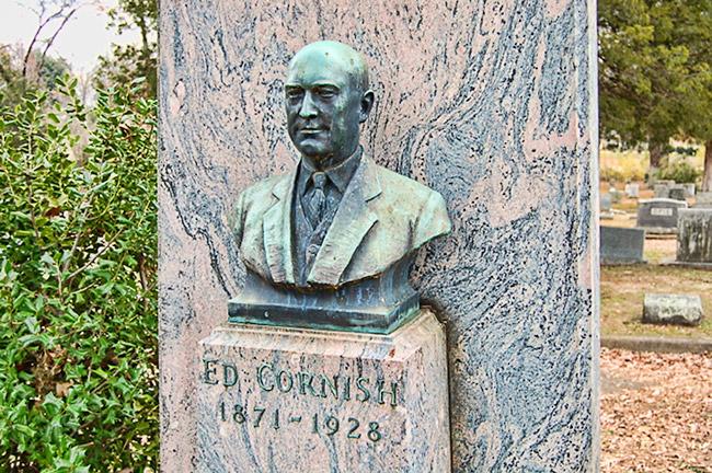 Ed Cornish Tombstone
