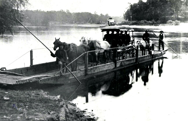 Cotter Ferry; 1904