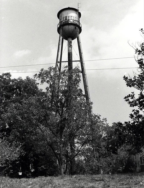 Cotter Water Tower