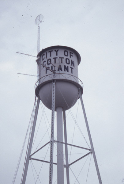 Cotton Plant Water Tower